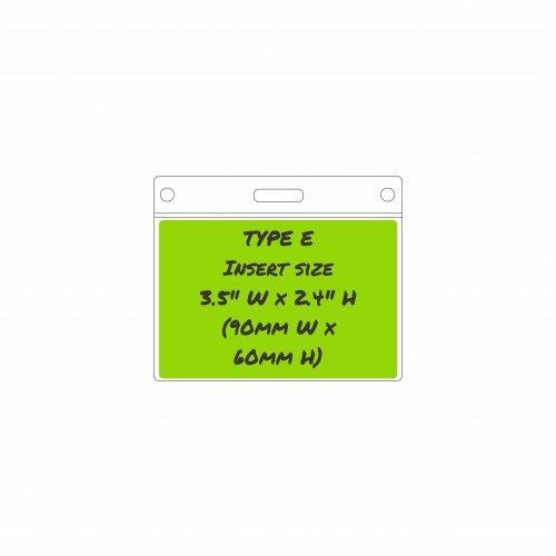 Type E Card Holder - Insert size: 90mm/3.5