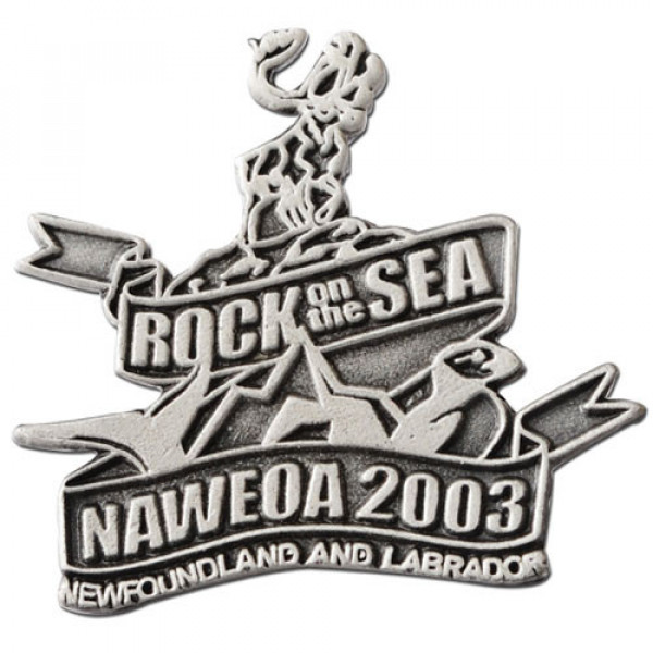 Rock On The Sea Lapel Pins