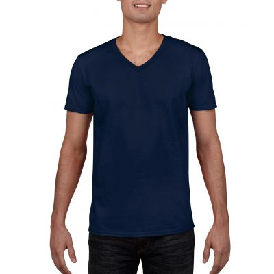 Gildan 153g Softstyle Adult V-Neck T-Shirt Image 2
