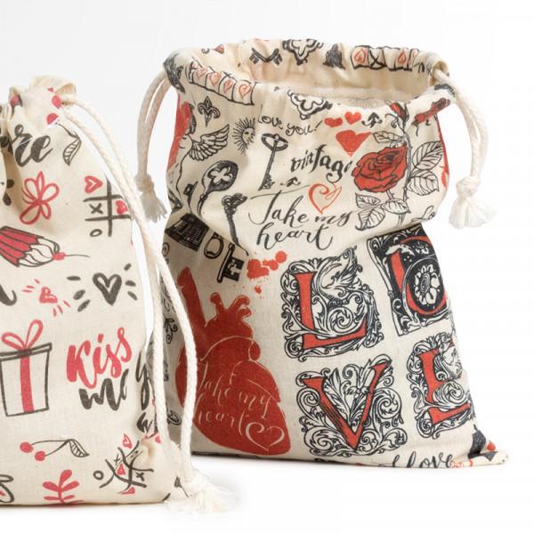 Drawstring Gift Bag Full Colour - 195 x 210mm