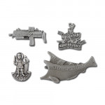 product image 3 | Rock On The Sea Lapel Pins