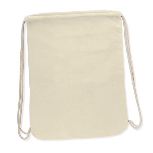 Cotton Drawstring Backpack - 457 x 342mm