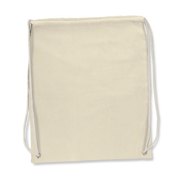 Cotton Drawstring Backpack - 450 x 382mm