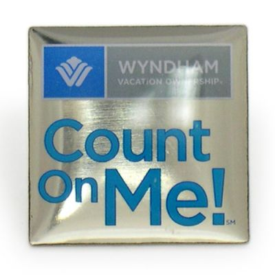 Count On Me Pins