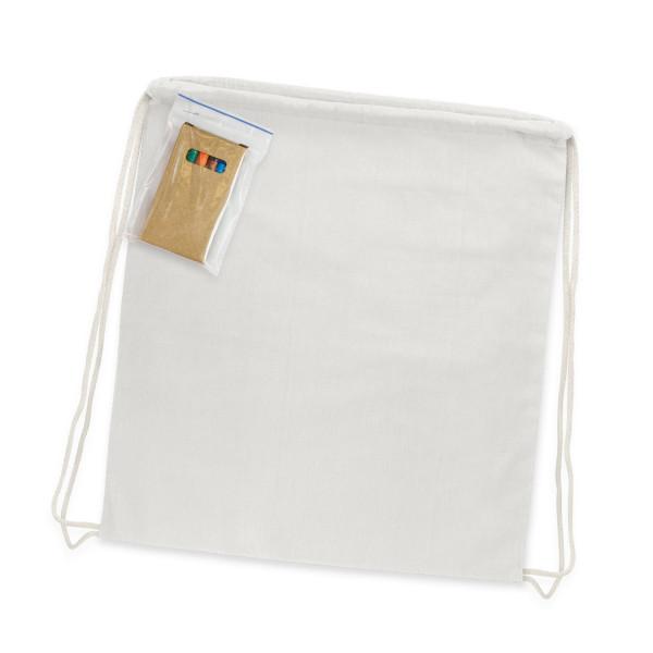 Colouring Drawstring Backpack - 485 x 380mmm