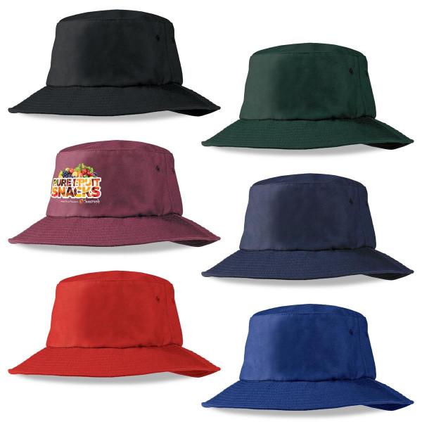 Poly Viscose Bucket Hat