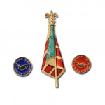 product image 3 | I Slew The Dragon Lapel Pins