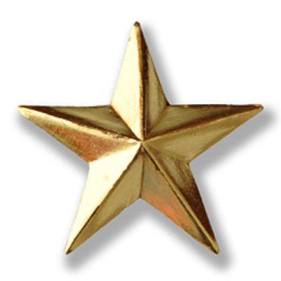 3D Star Pins
