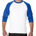 product image 5 | Gildan 180g Heavy Cotton 3/4 Sleeve Raglan