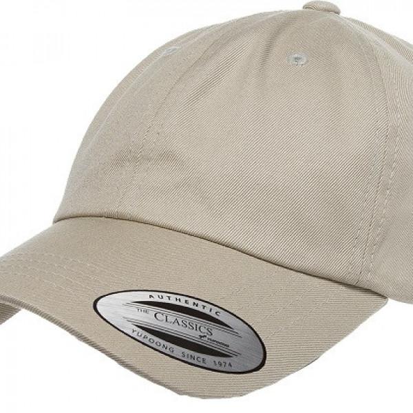 Low Profile Cotton Twill Dad Hat