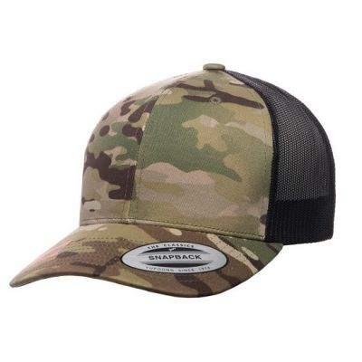 Camo Retro Trucker Multicam