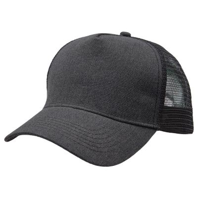 Heathered Mesh Trucker Image 2