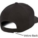 product image 4 | Flexfit 100 Cotton Twill Snapback Cap