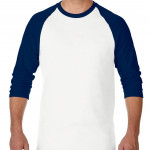product image 3 | Gildan 180g Heavy Cotton 3/4 Sleeve Raglan