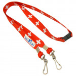product image 6 | Ribbed Polyester Lanyards