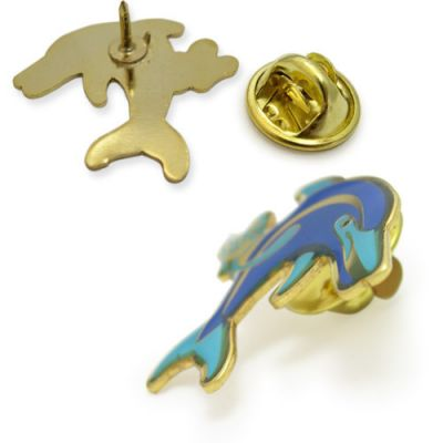 Dolphin Lapel Pins Image 2
