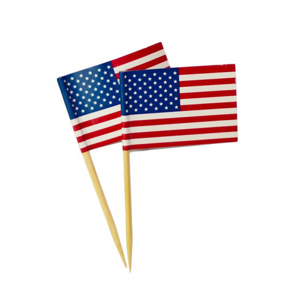 Small Toothpick Flag - 65mm