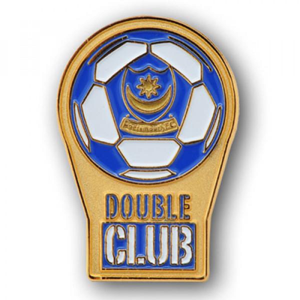 Double Club Lapel Pins