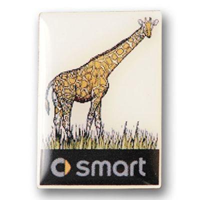 Giraffe Smart Logo Pins