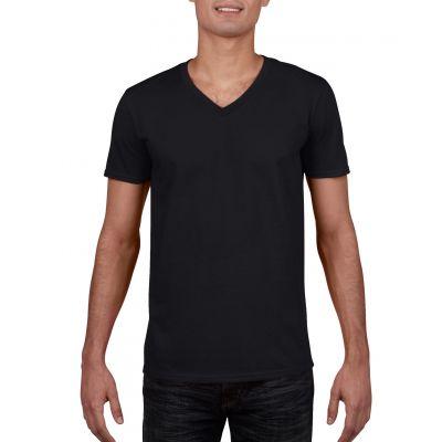 Gildan 153g Softstyle Adult V-Neck T-Shirt