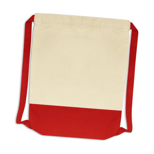 Cotton Drawstring Backpack - 413 x 340mm