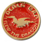 I Slew The Dragon Lapel Pins