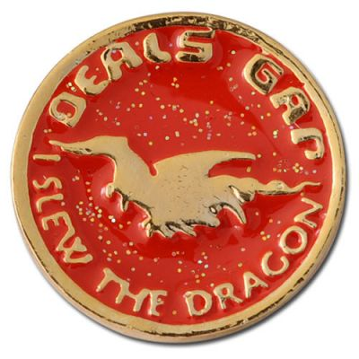 I Slew The Dragon Lapel Pins