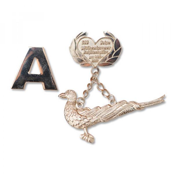 Love Bird Pins