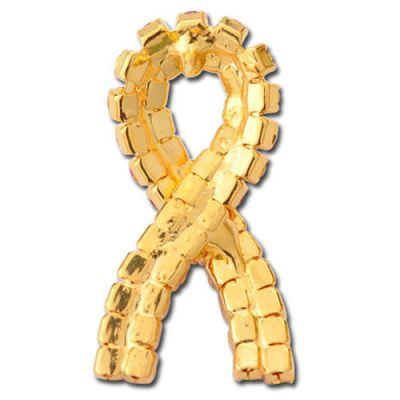 Pink Stones Ribbon Pins Image 2