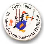 25 Jahre Jugendfeuerwehr Hebheim Logo Pins