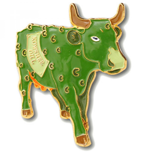 3D OX Green Colored Pins