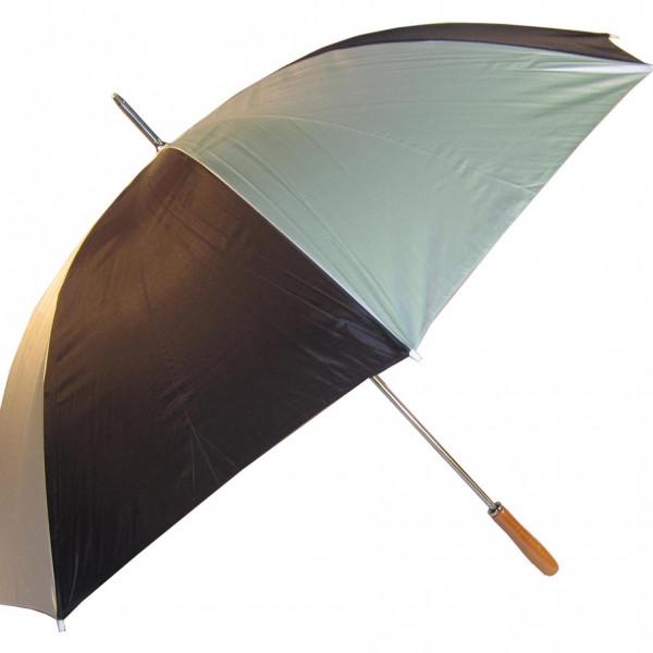 Par Silver/Black Umbrella